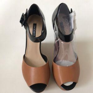 """Shoemint """"Sophia"""" Stiletto Wedges Size 8.5 - NEW!"""